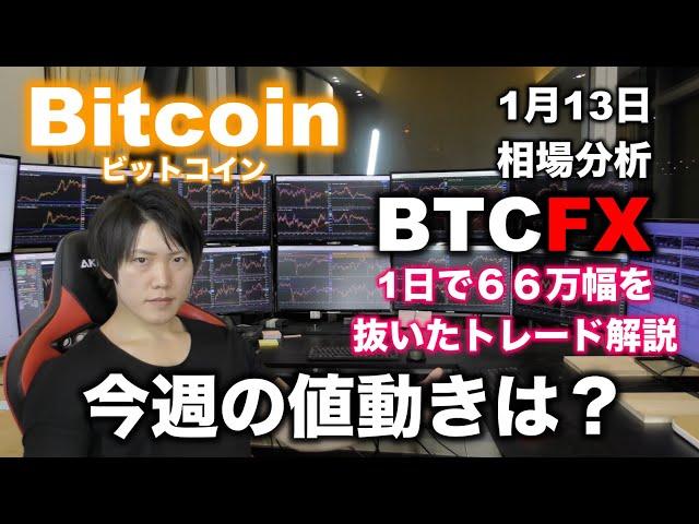 ビットコイン今後の値動きと、BTCFXで1日66万幅を抜いたト… #ビットコイン #BTC