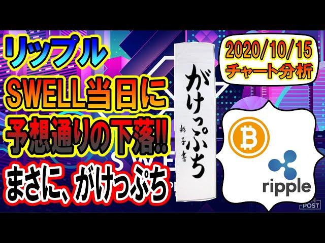 #リップル #XRP 【仮想通貨・暗号資産】リップルがけっぷち!!見ておくべき重要ラインを大公開!!