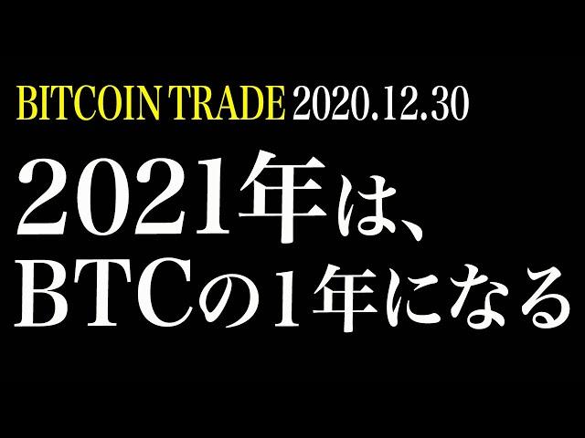 【BTCラスト】2021年はビットコインの1年になる!年内30000… #ビットコイン #BTC