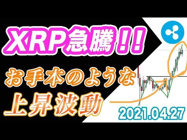 【ETH&XRP&LTC】リップル急騰!お手本のような上昇波動!ど… #リップル #XRP