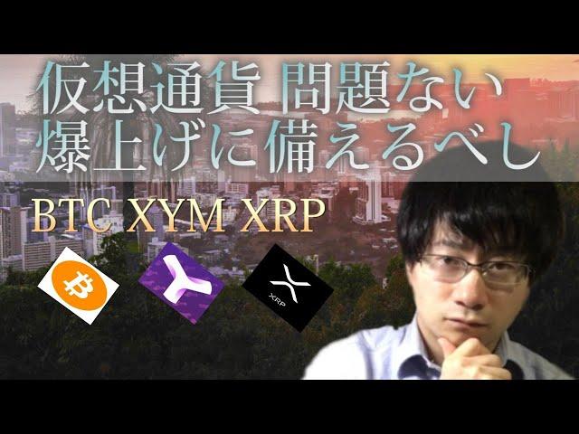 【仮想通貨ビットコイン,リップル,XYM】BTC問題ありません。 #XYM #Symbol